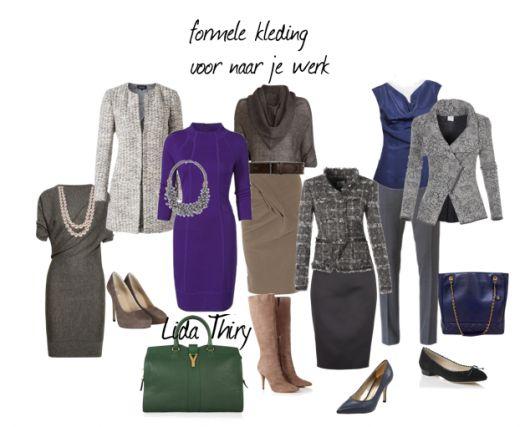 Formele kleding voor naar je werk. Klik op de foto voor meer details.