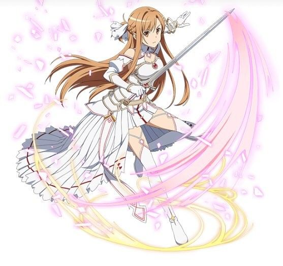 Finally We Can See Her My Stacia Sama My Beautiful Girl Sao Alicization Sword Art Online Asuna Sword Art Online Alo Sword Art Online Wallpaper
