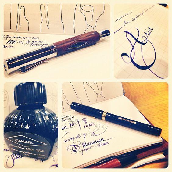 What a beautiful pen!