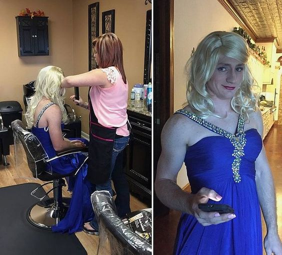 Womanless Makeover - Bing