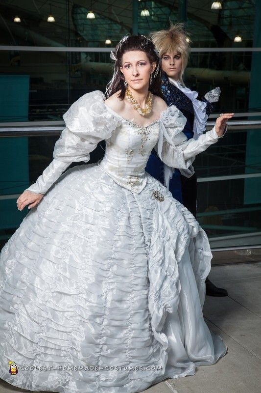 Handmade, Labyrinths and Costumes on Pinterest Labyrinth Movie Sarah Dress
