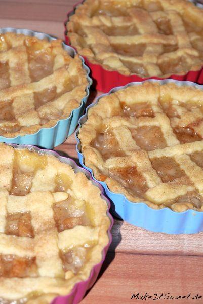 Rezept für Birnen-Zimt-Pie Recipe pear-cinnamon-pie