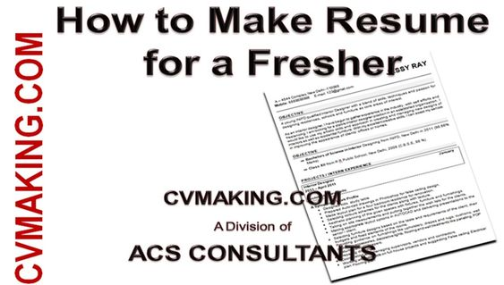 Qualities of Good CV Maker CV Resume Making Tips Pinterest - how to make cv resume for freshers