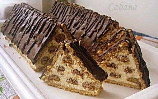 Prajitura Cabana: Cabana Prajituri, Coffee Cakes, Europa Desserts, Shock Cakes, Romanian Recipe, Dessert Recipes, Romanian Dessert, Chocolate Cakes