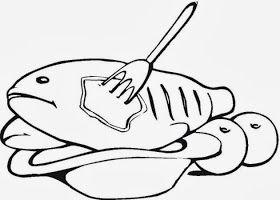 Maestra De Primaria Dibujos De Carnes Pescados Y Mariscos Para Colorear Pescados Y Mariscos Carne Paginas Para Colorear