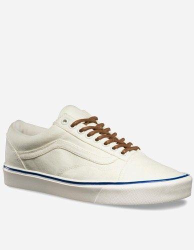 Vans - Old Skool Lite+ Schuh Vintage classic white