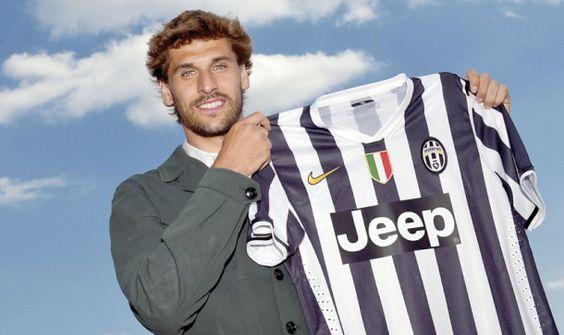 Llorente se presenta con la Juventus