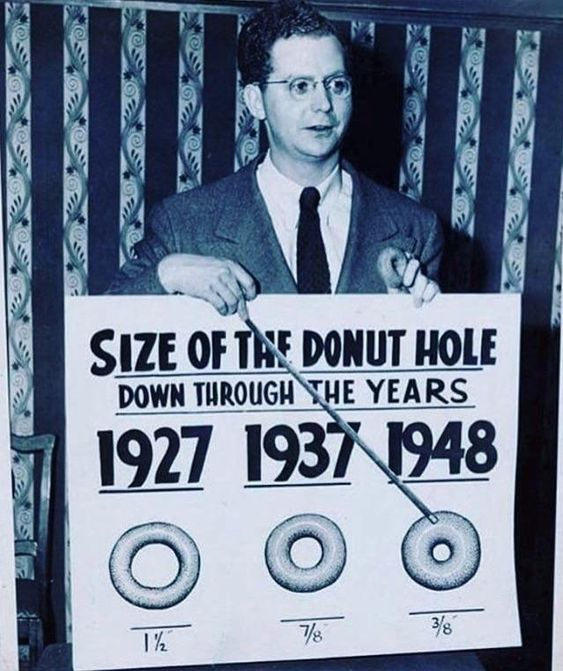 The Optimist Sees The Donut The Pessimist Sees The Hole So Stop
