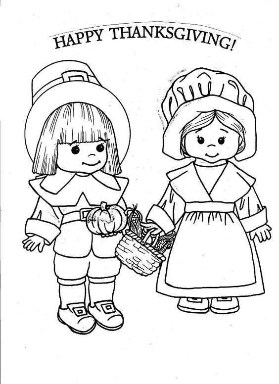 Thanksgiving pictures to color | Coloring pages ...