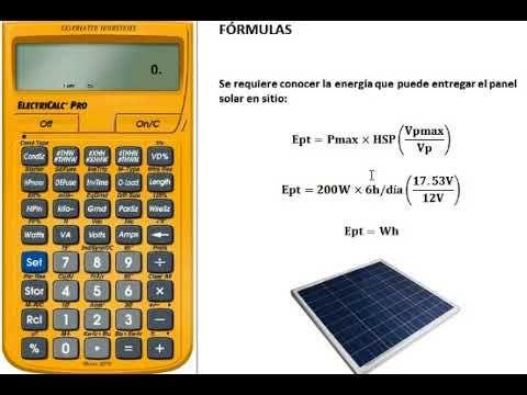 Como Calcular El Numero De Panel Solares En Un Sistema Solar Fotovoltaico Calculo De Paneles Solares Paneles Solares Sistema Solar Fotovoltaico