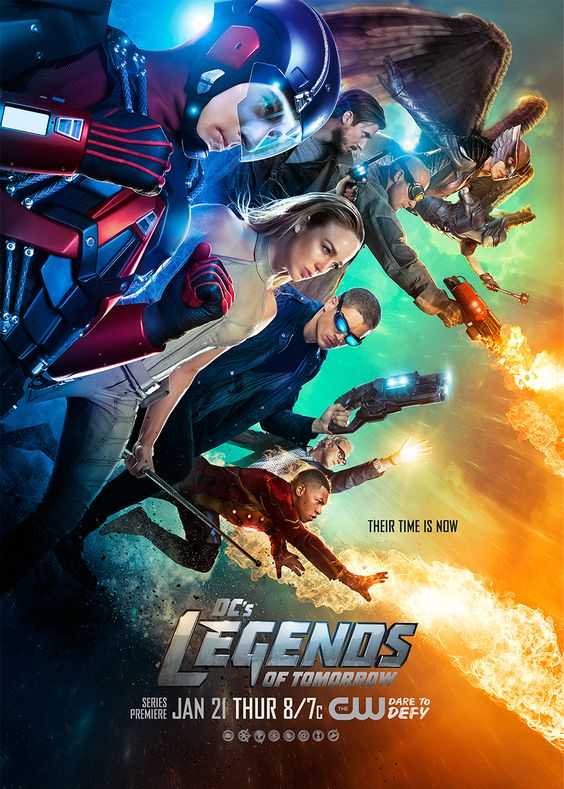 The future is in their hands. DC's Legends of Tomorrow premieres Thursday, January 21 on The CW!
