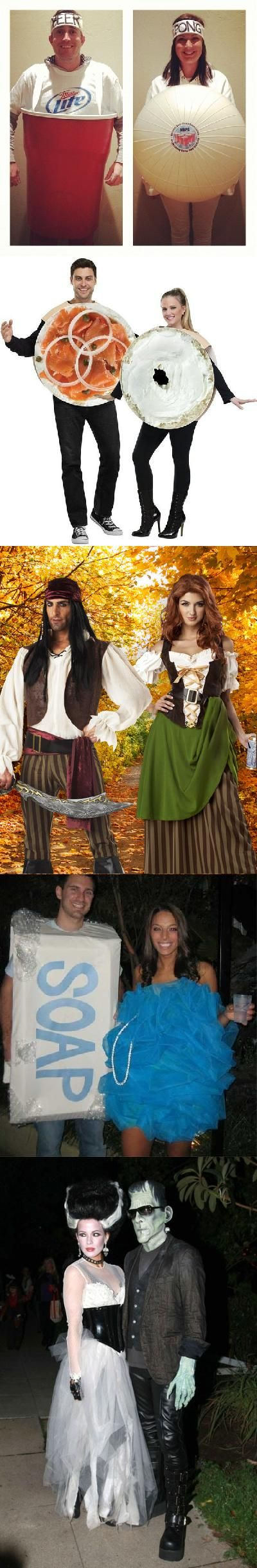 His and her halloween costumes - 6 PHOTO!