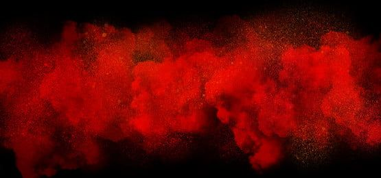 Ink Drawing Card Red Smoke Smoke Background Youtube Banner Backgrounds