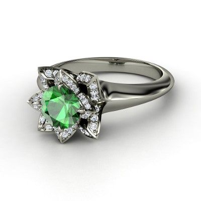 They offer this with a green amethyst for significantly less, and a whole bunch of other colors. Absolutely gorgeous.