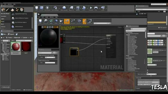 Unreal Engine 4 Tutorial - Decals (Free Blood Pack)
