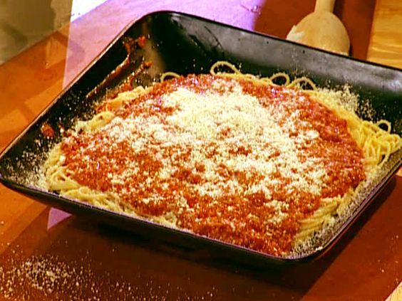 Pasta bolognese recipe emeril