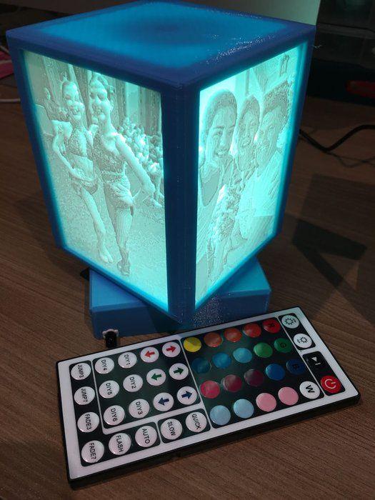 Rotating Lithophane Box 3d Printing 3d Printed Jewelry 3d Printer