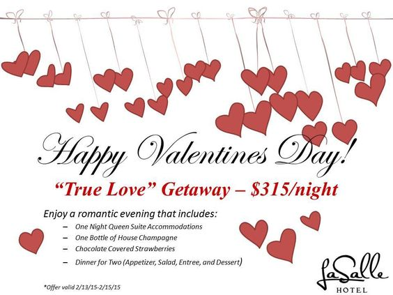 """Check out the """"True Love"""" Getaway at the La Salle Hotel in Downtown Bryan. Perfect for a special night away from the house!"""