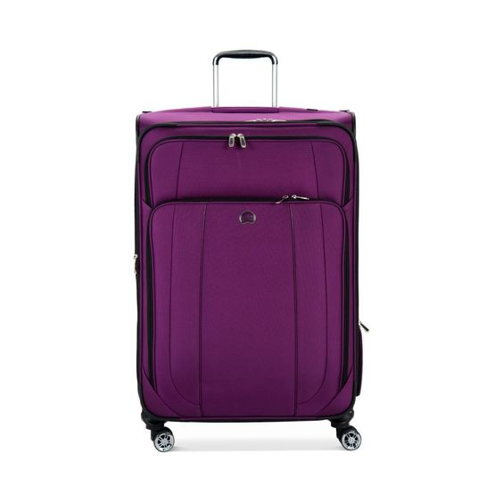 "Delsey Helium Cruise 29"" Expandable Spinner Suiter Trolley"