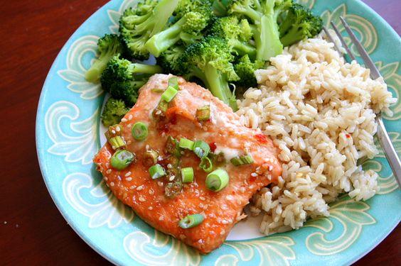 Asian Sesame Salmon | Hungry Hannah
