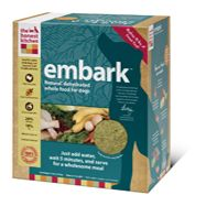 Embark is ideal for puppies and active adults, particularly those with food sensitivities to grains and those who need a low carbohydrate diet. Low carb diets are often indicated as part of a holistic approach to cancer recovery. Embark is made with cage-free, hormone-free Turkey and like all of our diets, it's 100% human-grade, made in the USA, and does not contain corn, soy, rice, beet pulp or wheat. Just add water for a fresh, wholesome and human grade meal.