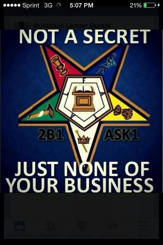 Not a secret... just none of your business... OES