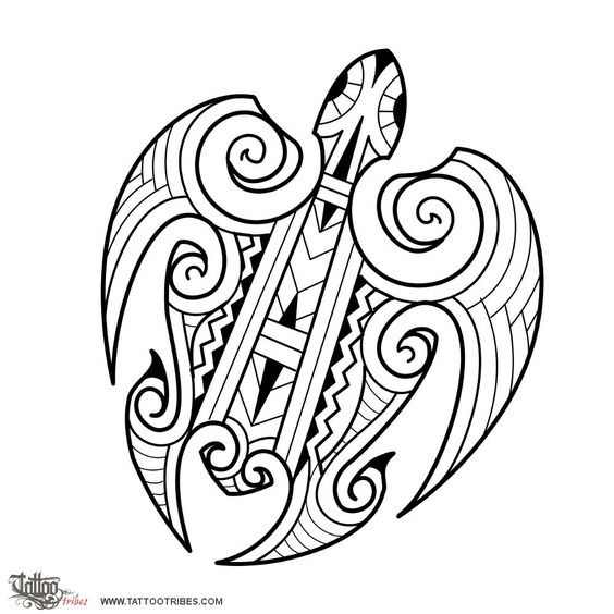 Maori turtle. Navigator. This Maori style turtle tattoo was requested by Manuel and[...] Hi-res and full description at http://www.tattootribes.com/index.php?newlang=English&idinfo=7601