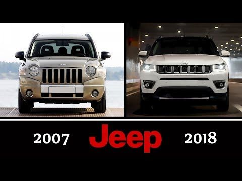 Jeep Compass Evolution 2007 2018 New Vs Old Youtube