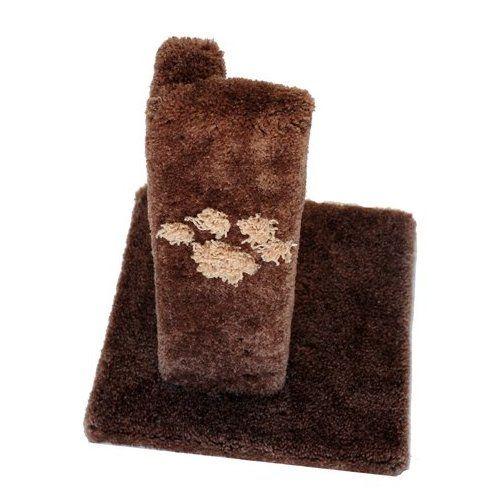 Wood Cat Scratching Post Furniture Protector Sisal Pole Beige Carpet Pet Supplies