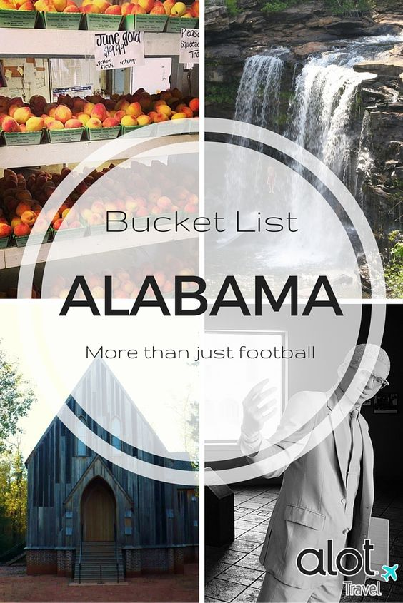 Top 10 things to do and see in Alabama! Learn about the state's important role in the Civil Rights Movement and encounter hidden surprises around every turn by incorporating these bucket list items into your next Alabama vacation.