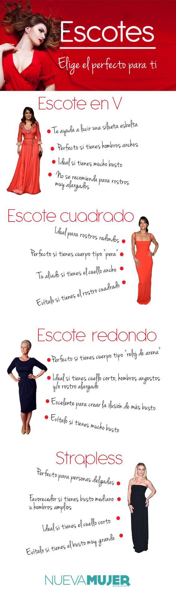 Si quieres lucir espectacular, toma nota de estos consejos para que aprendas a elegir las prendas que más favorecen tu cuerpo.: