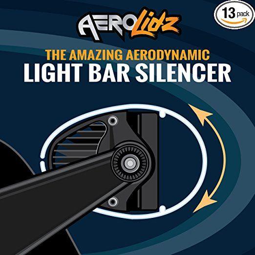 Aerolidz Universal 50 52 Inch Wind Diffuser Smoked Aerodynamic Led