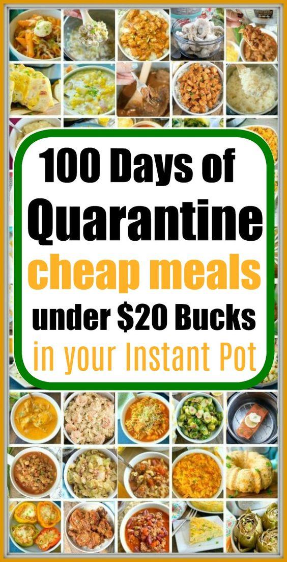 Instant Pot Cheap Recipes