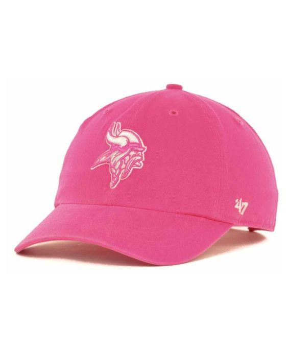 '47 Brand Women's Minnesota Vikings Berry Clean Up Cap