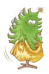 Árbol de navidad saco