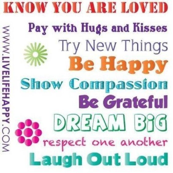 Know you are loved!