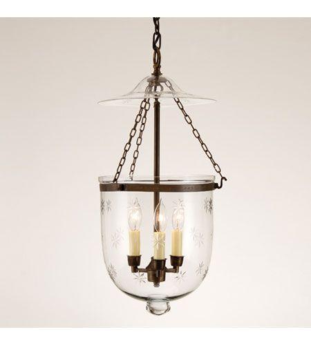 jvi designs bell jar 3 light hanging bell pendant in oil rubbed bronze. Black Bedroom Furniture Sets. Home Design Ideas