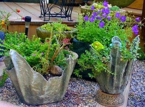 98 Garden Decoration Ideas Xkwdm Com In 2020 Concrete Planters