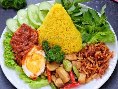 Resep Nasi Kuning Samarinda Oleh Susi Agung Resep Makanan Sehat Resep Makanan Dan Minuman