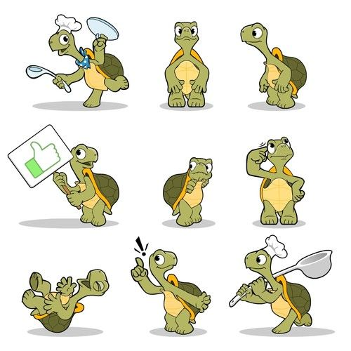 40+ Turtle characters ideas in 2021
