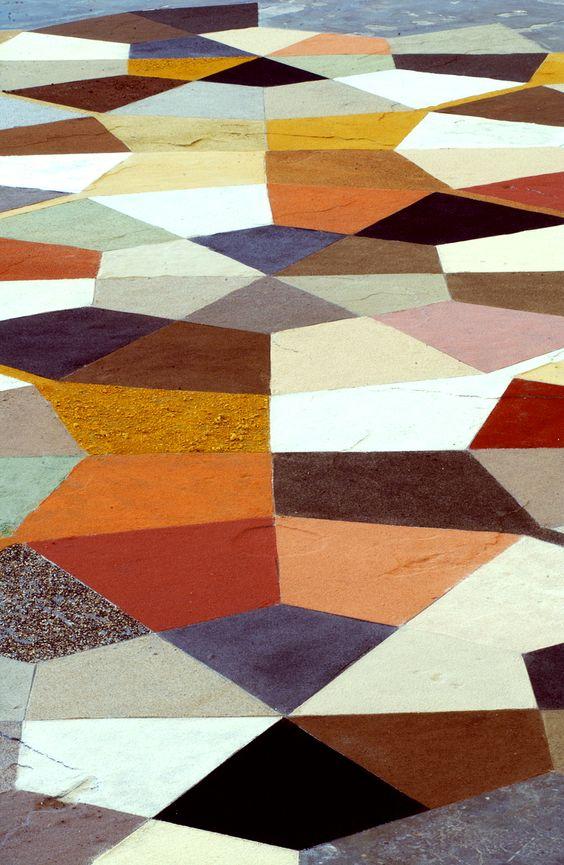 floor painting.
