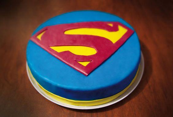 Superman Cake - Torta de Superman