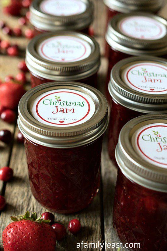 Cranberry Strawberry Jam Recipe — Dishmaps