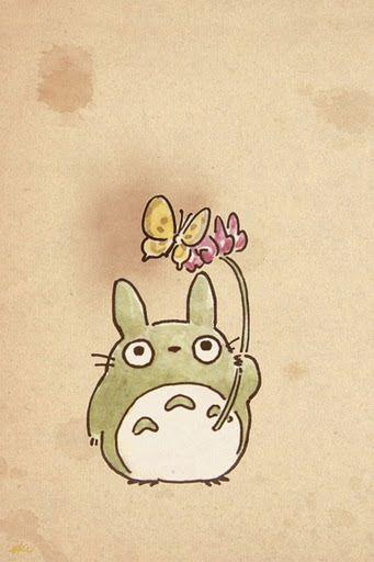 Cute Totoro Phone Wallpaper