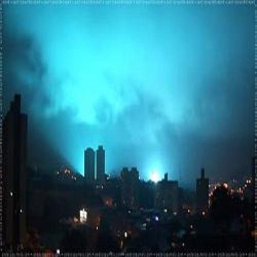OVNI pousa no RJ na noite passada
