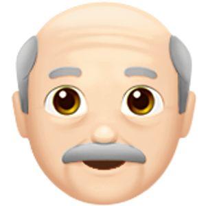 Older Man 1 Old Man Emoji Light Skin Tone Light Medium Skin Tone