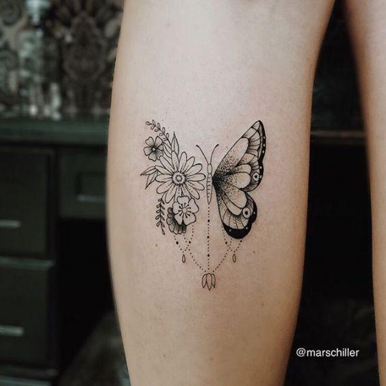 Little Butterfly Tattoos For Girls In 2020 Body Art Tattoos Butterfly Tattoo Tattoos