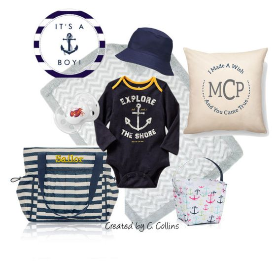 Baby Boy Gifts On Pinterest : Baby boy style with thirty one gifts by ecomn on polyvore