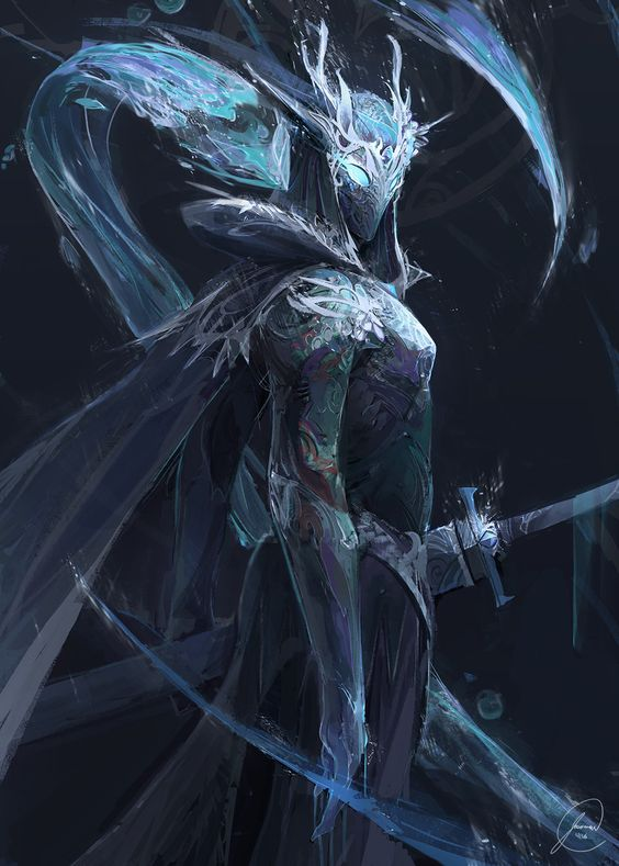 cinemagorgeous:  Water Knight by artist Jason Nguyen.