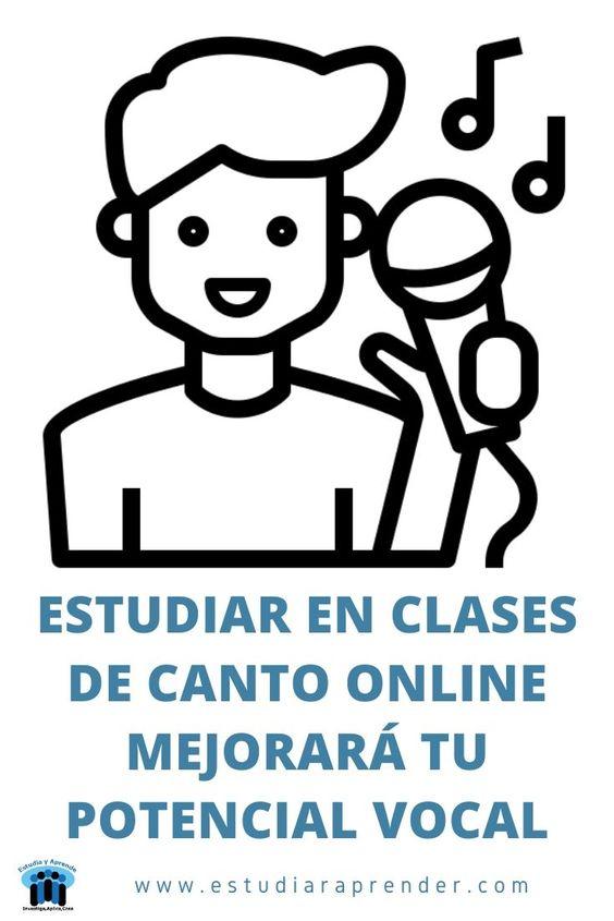 estudiar en clases de canto online